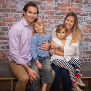 Dr Stephen and family