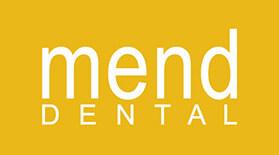 Mend Dental logo - Home