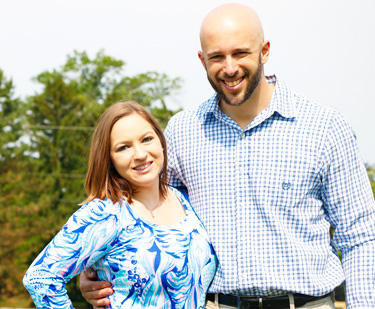 Chiropractor York PA, Dr. Eichner and his wife