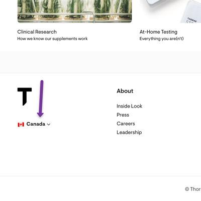 screenshot choose country