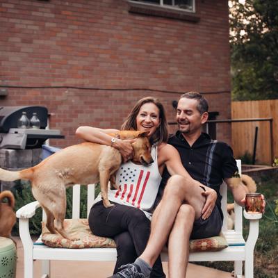 Nikki with family