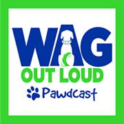 Wag Out Loud Pawdcast logott
