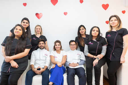 The team at Magical Smiles