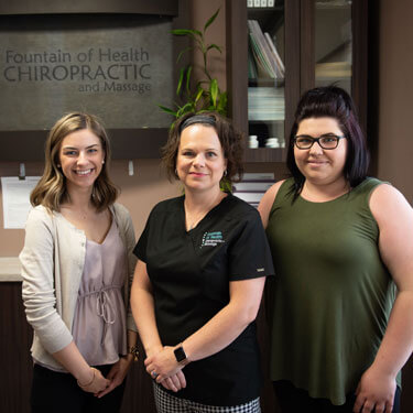Fountain of Health Chiropractic and Massage staff