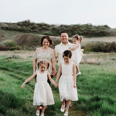 Dr. Karen and family