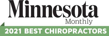 Minnesota Monthly 2021 best chiropractors