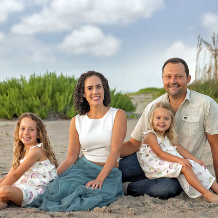 Dr. Christie and Family