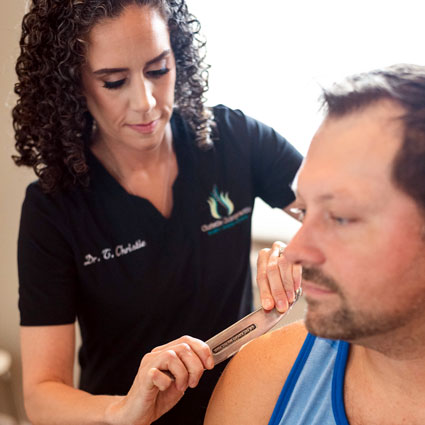 Sports Chiropractic Patient
