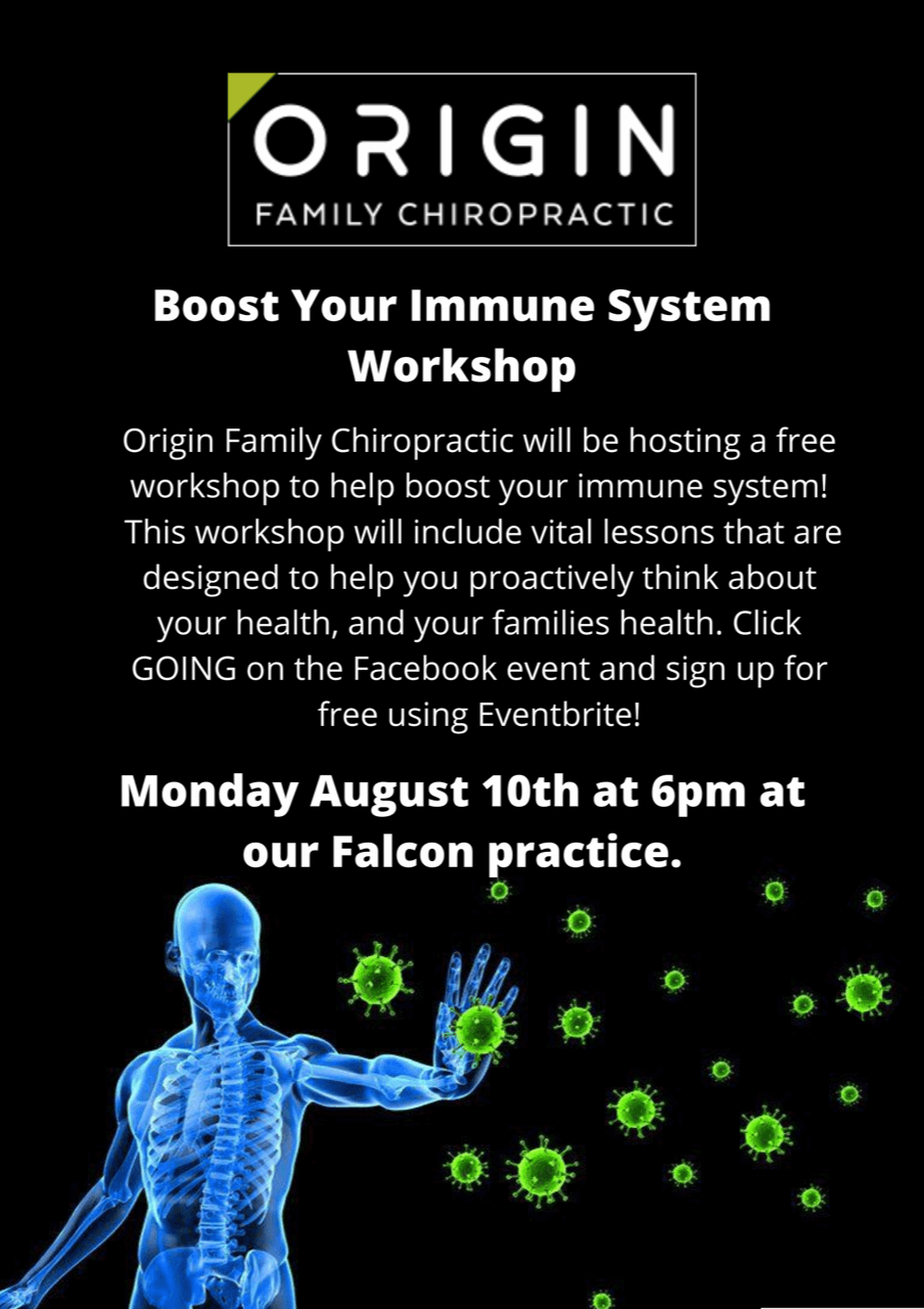 Poster: Boost your immune system webinar