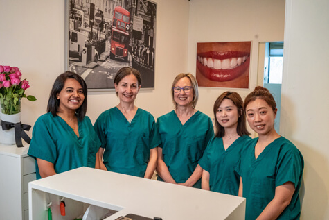The team at She's Apples Dentistry