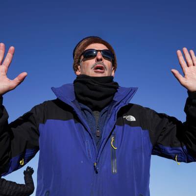 Dr. Skopp at Grand Canyon