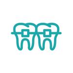 Illustration of traditional braces