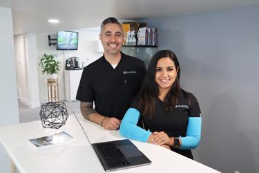 Dr. Bakko and wife Susana