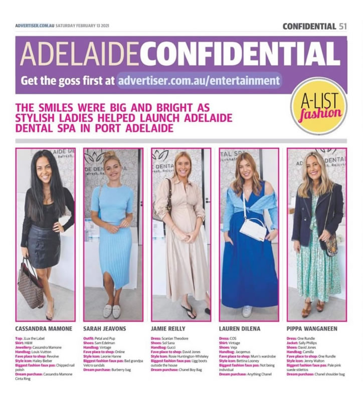 As Featured in the Advertiser February 2021