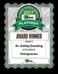 award 2017 ashley duesling