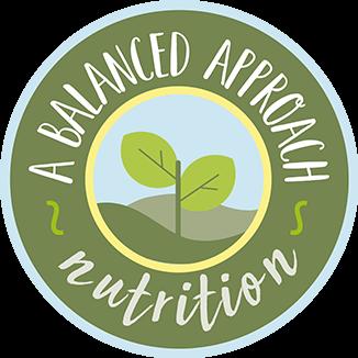 A Balanced Approach Nutrition logo - Home