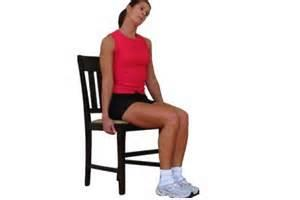 holding chair stretch