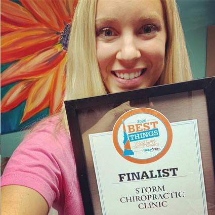 Best Chiropractor award