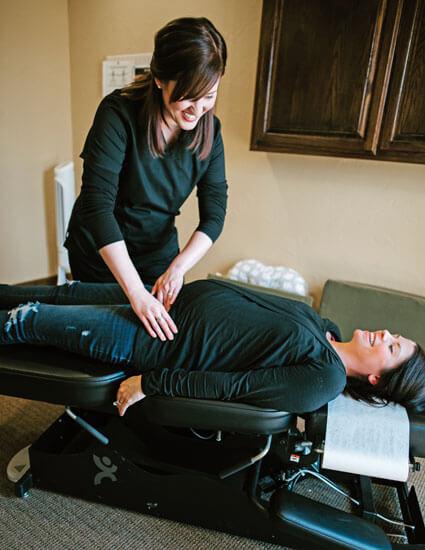 Dr. Shelton pregnancy adjustment