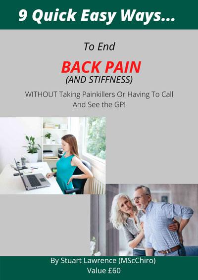 Nine Back Pain Tips PDF
