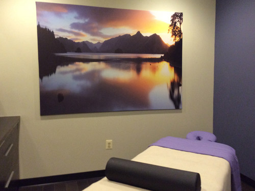 picture massage room