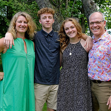 Dr Steve and family