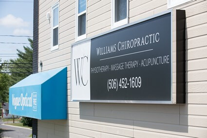 Williams Chiropractic Health & Performance Centre exterior