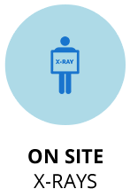 On-site X-rays