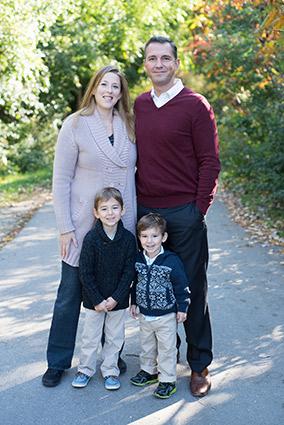 Family photo of Dr. Johanna