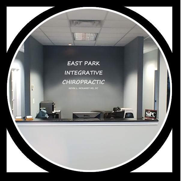 East Park Integrative Chiropractic front desk