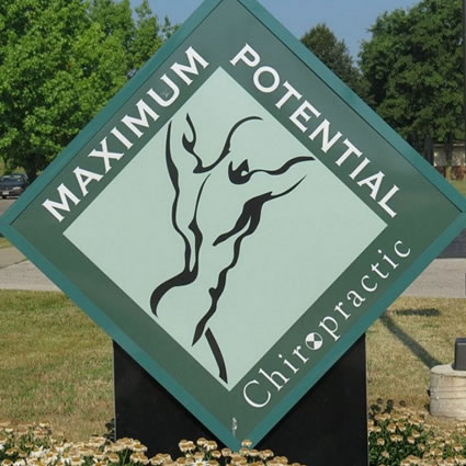 Maximum Potential Chiropractic sign outside