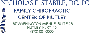 Family Chiropractic Center of Nutley logo - Home