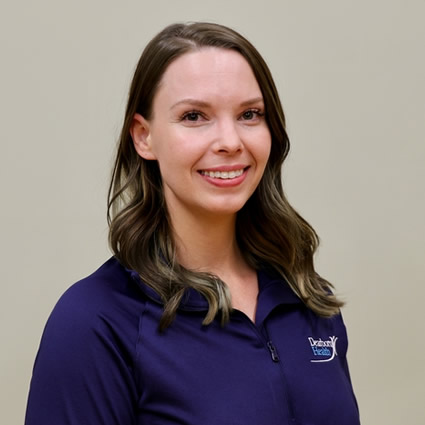 Chelsea Hollett, Dearborn Health massage therapist