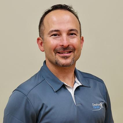 Eric Abayof, Dearborn Health massage therapist