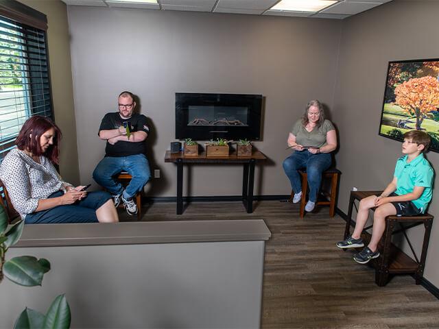 Achieve Health and Wellness waiting room