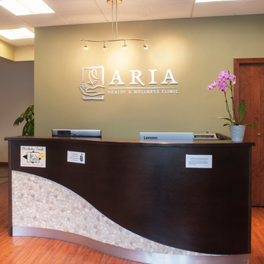 Aria Health and Wellness Front Desk