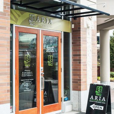 Aria Health and Wellness Front Door