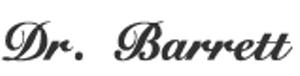 Dr. Barrett's signature
