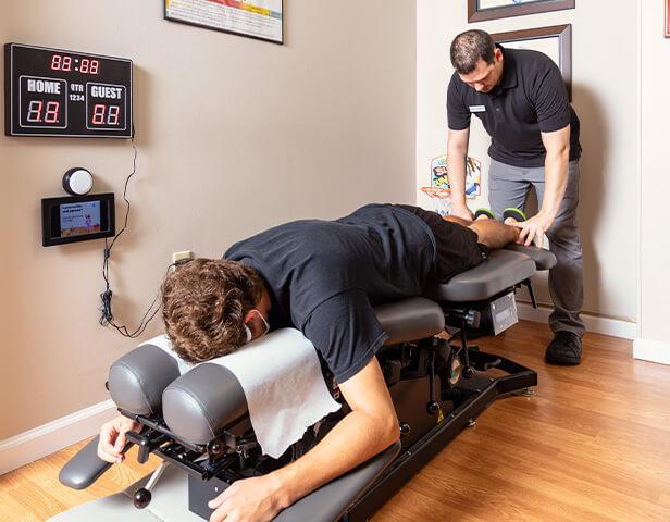 Dr Inman Adjusting Man