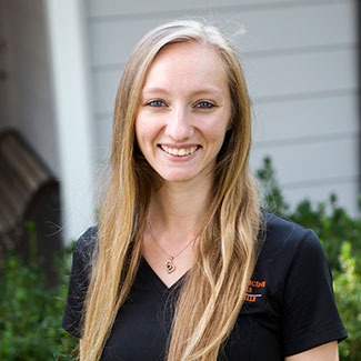 Casey, Physical Medicine Associates of Gainesville exercise physiologist