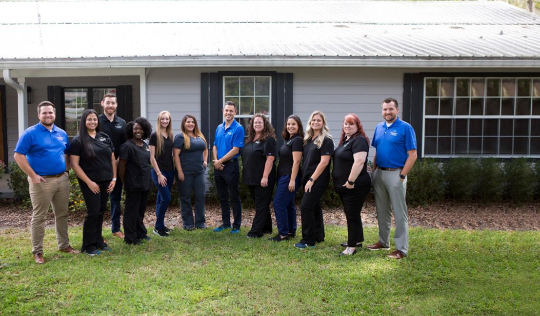 Physical Medicine Associates of Gainesville team