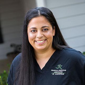 Stephanie, Physical Medicine Associates of Gainesville front desk