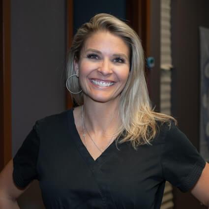Heather Key, Parker Integrative Health billing manager and desk manager