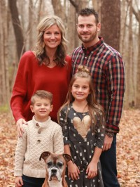 Photo of Dr. Katie Hulbert and family