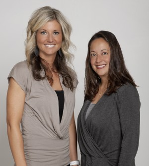 Photo of Dr. Erika Grushon and Dr. Katie Hulbert