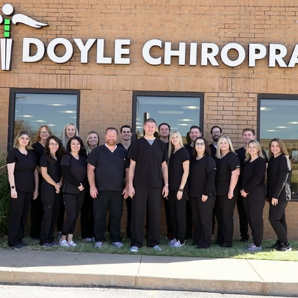 Team outside Doyle Chiropractic