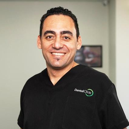 Dentist, Dr. Adrian Scriva