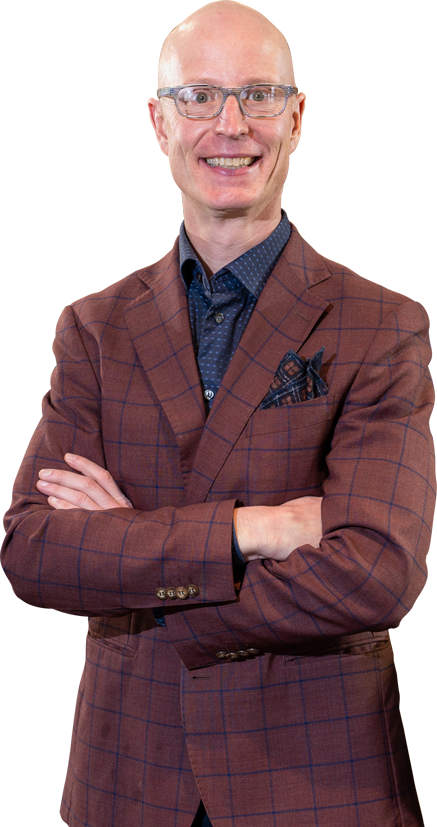 Dr. Josh Biberdorf smiling