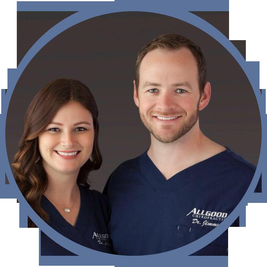 Drs. Lauren and Jimmy