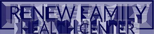 Renew Family Health Center logo - Home